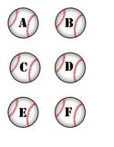 Baseball Alphabet Labels