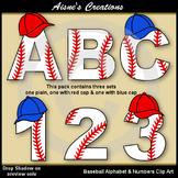 Baseball Alphabet & Numbers
