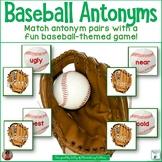 Baseball Antonyms Card Game