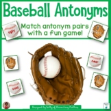 Baseball Antonyms Card Game