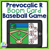 Baseball Prevocalic R Articulation Boom Card Game No Print Speech Therapy