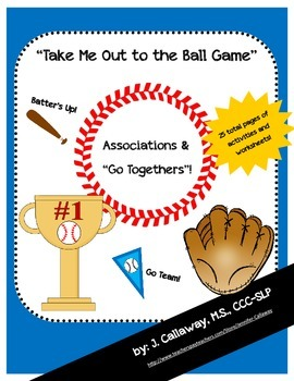 """Baseball ~ Associations and """"Go Togethers"""""""