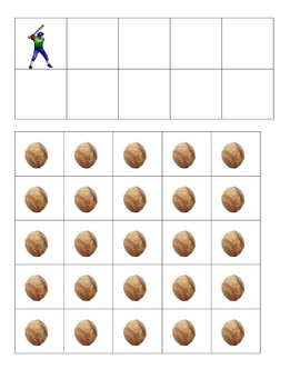 Baseball Batter-Up Ten Frames Games