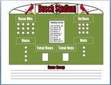 Baseball Behavior Plan
