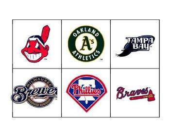 Baseball Bingo cards
