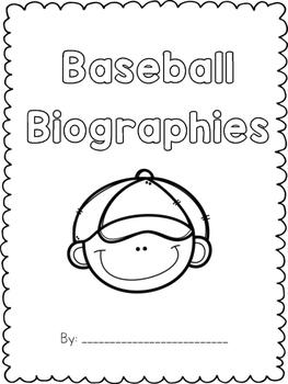 Baseball Biographies Freebie