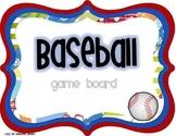 Baseball Board Game {Editable Question Cards}