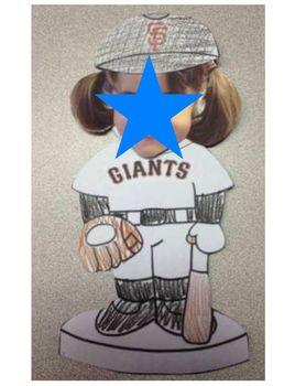 Baseball Bobblehead Craft
