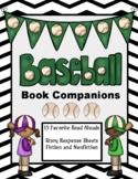 Baseball Book Companions: 15 Stories and 30 Response Sheets