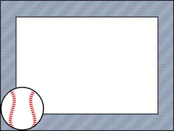 Free Sports Borders: Clip Art, Page Borders, and Vector Graphics | Baseball  bat, Baseball posters, Baseball baby shower invitations