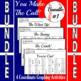 Baseball Bundle #1 - 4 Baseball Coordinate Graphing Activities