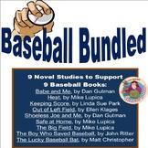 Baseball Bundled,by Jean Martin: 8 Baseball Novel Studies