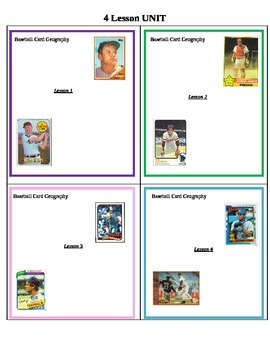GEOGRAPHY: Baseball Card Geography UNIT