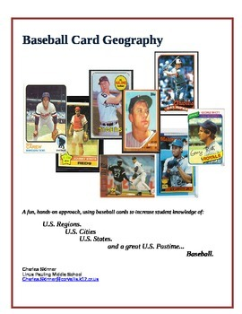 GEOGRAPHY: Baseball Card Geography UNIT