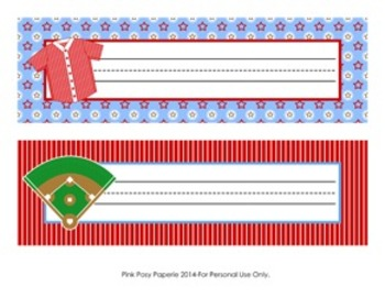 Baseball Classroom Decor Desk Name Plates