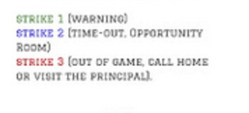 Baseball Classroom Management