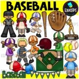 Baseball Clip Art Bundle {Educlips Clipart}
