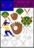 Baseball Clip Art {Designs by Nawailohi}