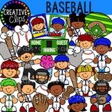 Baseball Clipart {Creative Clips Clipart}