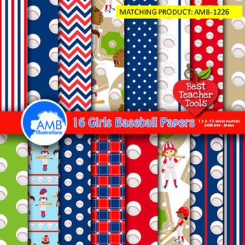 Baseball Clipart, Sports Clipart, Baseball Boys Clip Art, Yankee Blue, AMB-1227