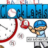#celebratedeals Baseball Clock Decor: For Your Sports Them