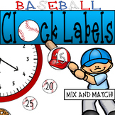 Baseball Clock Decor: For Your Sports Themed Classroom