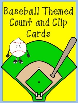 Baseball Count and Clip Cards