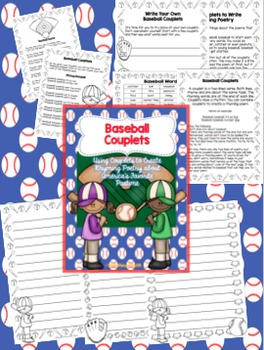 Baseball Couplets: Writing Rhyming Poetry About America's Favorite Pastime