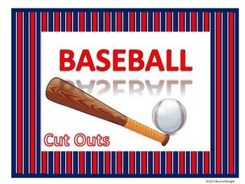 Baseball Cutouts
