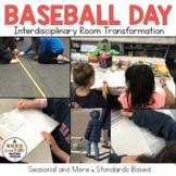 Baseball Day Bundle, Hands on, Math, Social Studies, Opinion Writing, & More