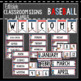Baseball Decor: Editable Classroom Signs & Labels