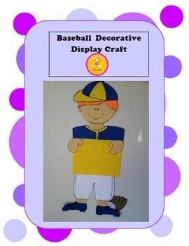 Baseball -Decorative Display/ Craft