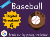 Baseball - Digital Breakout! (Escape Room, Distance Learni
