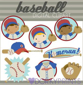 Baseball Digital Clip Art