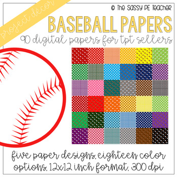 Baseball Digital Papers