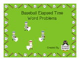 Baseball Elapsed Time Word Problems