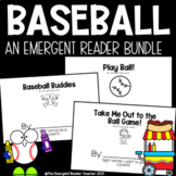 Baseball Emergent Reader Book Bundle