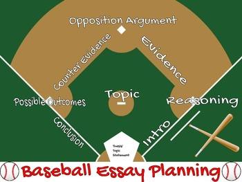 Baseball Essay Planning