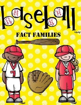 NO PREP Baseball Fact Families