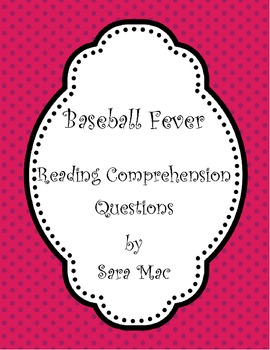 Baseball Fever: Guided Reading Questions
