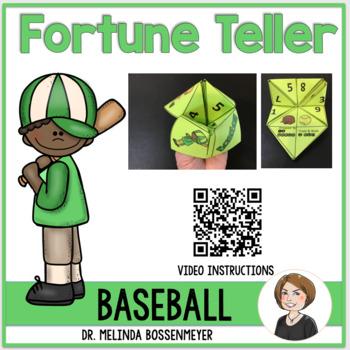 Baseball Fortune Teller Game