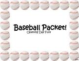 Baseball Fun / Opening Day Bundle