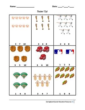 Baseball Game (Counting)
