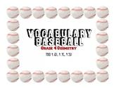 Baseball Geometry - 4th Grade Math 4.6D, 4.7C, 4.5D