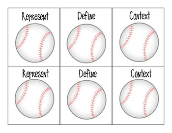 Baseball Geometry - 4th Grade Math 4.6D, 4.7C, 4.5D