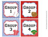 Baseball Group Numbers