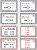Baseball (Homerun Derby) Game Cards (Compare & Order Decimals) Sets 4-5-6