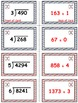 Baseball (Homerun Derby) Game Cards (Division of Whole Numbers) Sets 4-5-6