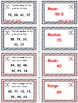 Baseball (Homerun Derby) Game Cards (Measures of Data) Sets 4-5-6
