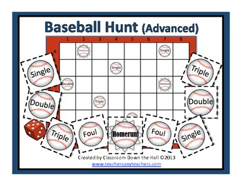 Baseball Hunt (Advanced): A Grid Game